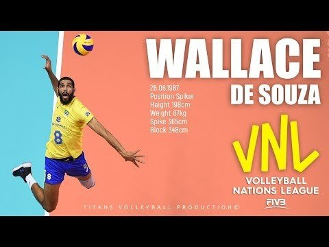 Wallace de Souza in VNL 2018