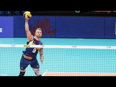 Best spikes without block in VNL 2018