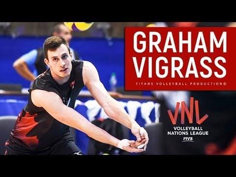 Graham Vigrass in VNL 2018
