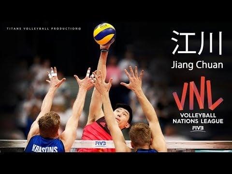 Jiang Chuan  in VNL 2018