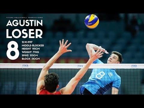 Agustín Loser in VNL 2018