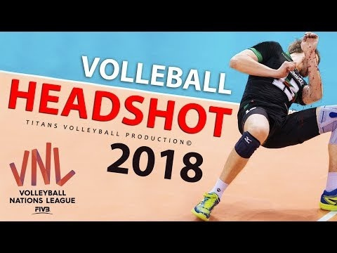 TOP 10 Volleyball Headshot | Balls to the Face | VNL 2018