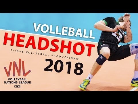 TOP 10 Headshots in VNL 2018