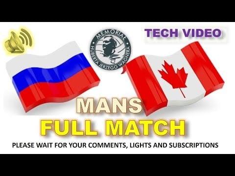 Russia - Canada (full match)