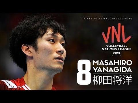 Masahiro Yanagida in VNL 2018