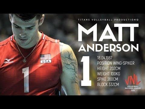 Matthew Anderson in VNL 2018
