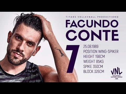 Facundo Conte in VNL 2018