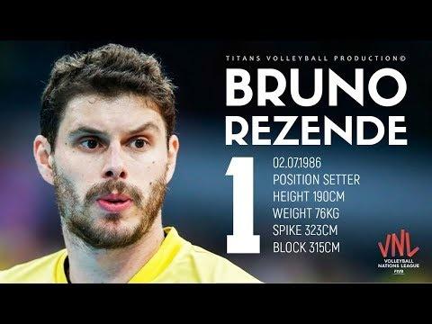 Bruno Rezende in VNL 2018