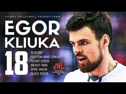 Egor Kliuka on VNL 2018 (2nd movie)