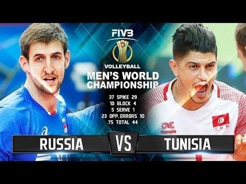 Russia - Tunisia (Highlights)
