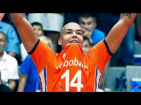 Nimir Abdel-Aziz in match Netherlands - France