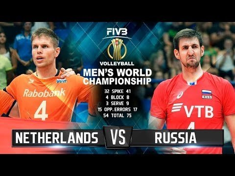 Netherlands - Russia (Highlights)