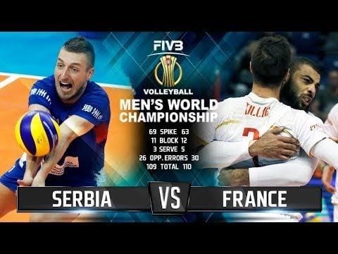 Serbia - France (Highlights)