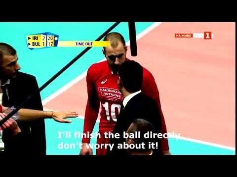 Valentin Bratoev asking for a ball