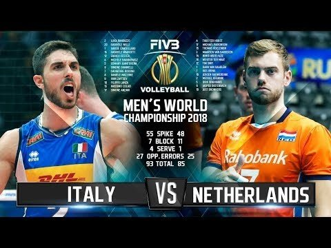 Italy - Netherlands (Highlights)