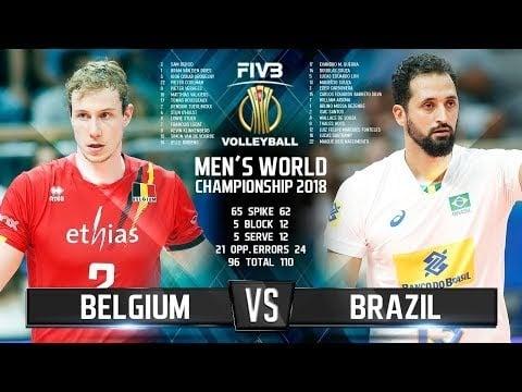 Belgium - Brazil (Highlights)