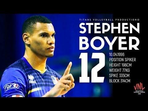 Stephen Boyer | Craziest Spiker | HD