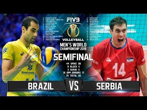 Brazil - Serbia (Highlights)