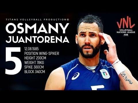 Osmany Juantorena in VNL 2018