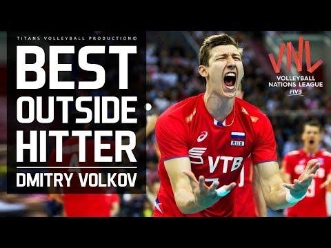 Dmitry Volkov in VNL 2018
