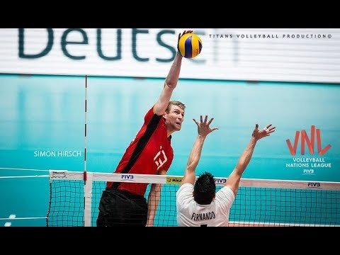 Simon Hirsch in VNL 2018