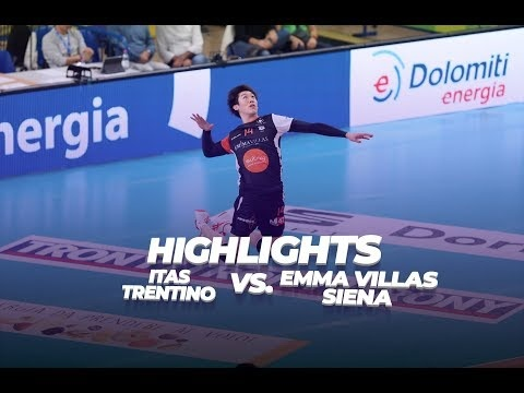 Trentino Volley - Emma Villas Siena (Highlights)