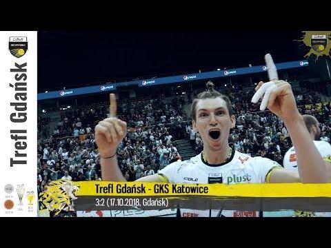 Trefl Gdańsk - GKS Katowice (Highlights)