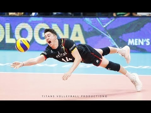 Best Volleyball Digs in World Championships 2018