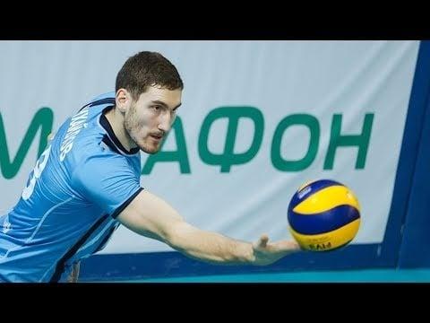 Maxim Mikhaylov in match Dynamo Moscow - Zenit Kazan