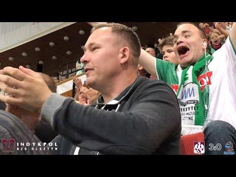 AZS Olsztyn - MKS Będzin (Highlights)