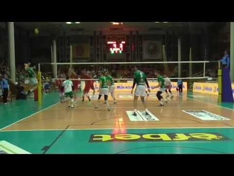 Dobrudja digs in match Dobrudja - CSKA Sofia