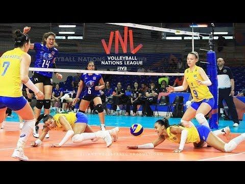 Best actions in VNL 2018