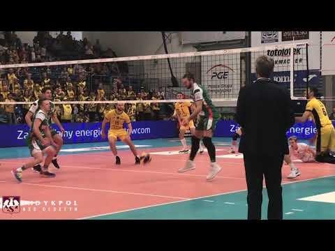 Skra Bełchatów - AZS Olsztyn (Highlights)