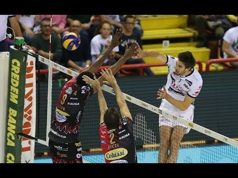 Sir Safety Perugia - Trentino Volley (Highlights)