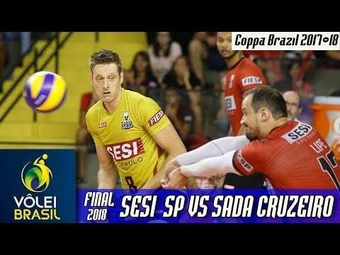 Sesi São Paulo - Sada Cruzeiro Vôlei (Highlights, 2nd movie)