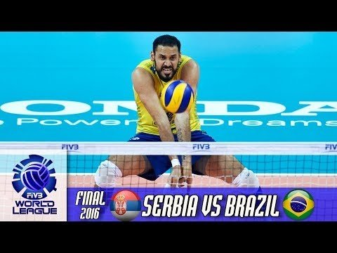 Serbia - Brazil (full match)