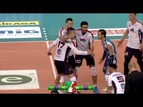 Kioene Padova - Vero Volley Monza (short cut)