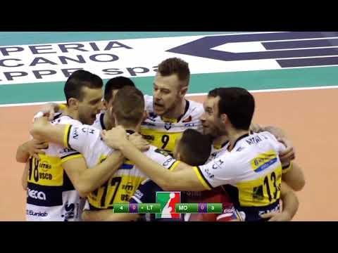 Top Volley Latina - Modena Volley (short cut)