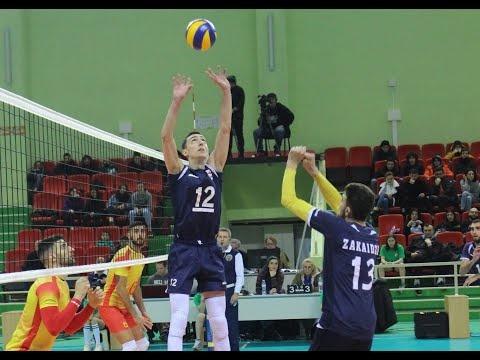 Otar Chachua - Setter of Georgian Volleyball National Team