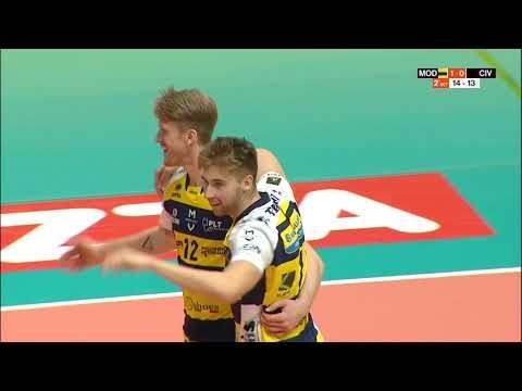 Long rally (Modena Volley - Lube Banca Macerata)