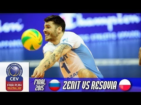Resovia Rzeszów - Zenit Kazan (full match)