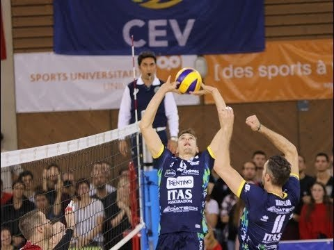 Lausanne UC - Trentino Volley (Highlights)