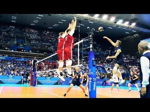 Huge blocks in volleyball