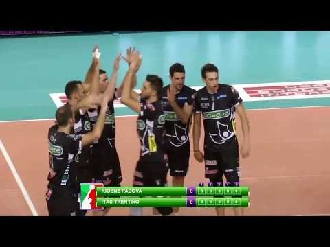 Kioene Padova - Trentino Volley (Highlights)
