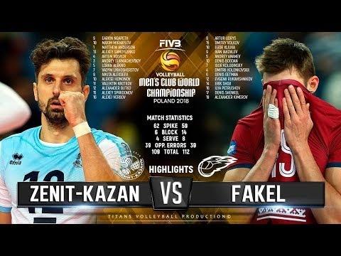 Zenit Kazan - Fakel Novy Urengoy (Highlights)