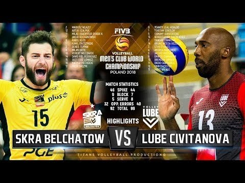 Skra Bełchatów - Lube Civitanova (Highlights, 2nd movie)