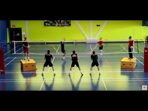 Volleyball Explained: How to organize a triple block