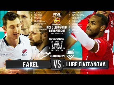 Fakel Novy Urengoy - Lube Civitanova (Highlights)