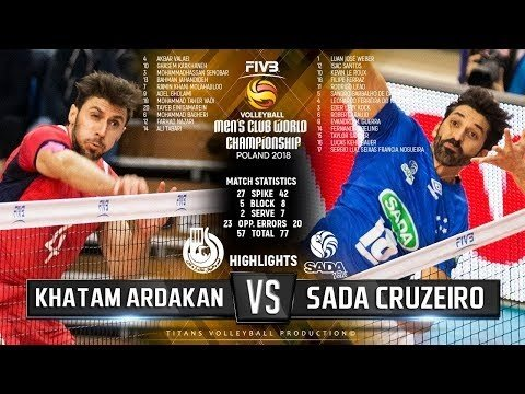 Khatam Ardakan - Sada Cruzeiro Vôlei (Highlights)