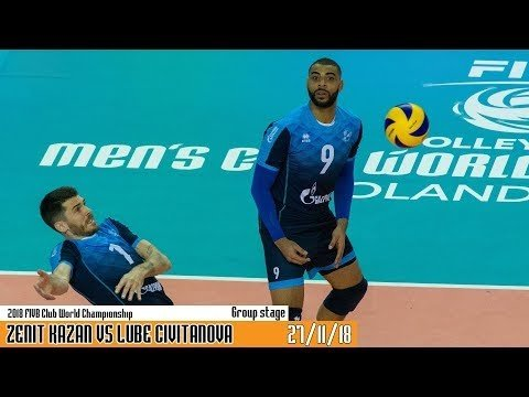 Lube Civitanova - Zenit Kazan (Highlights)